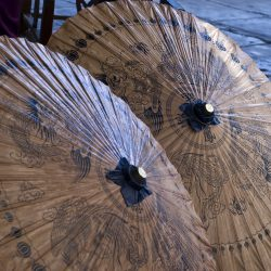 Asian traditional umbrella