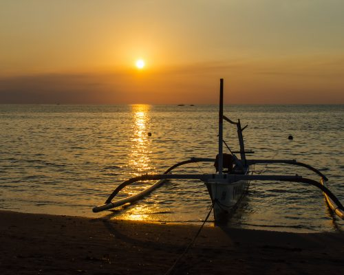 Sunset in Lovina Bali