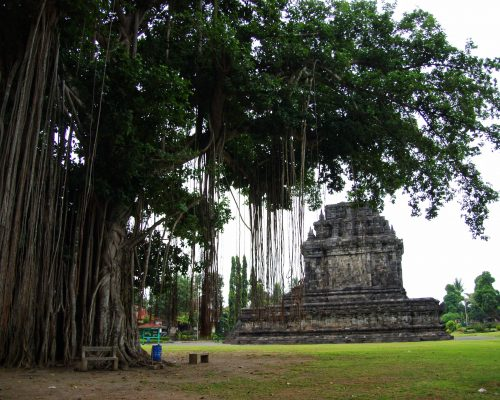 Mendut Temple, another ancient monument found in Yogyakarta, Indonesia