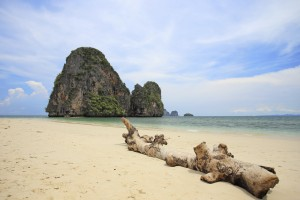 tropical sea Phra Nang, Krabi, Thailand.