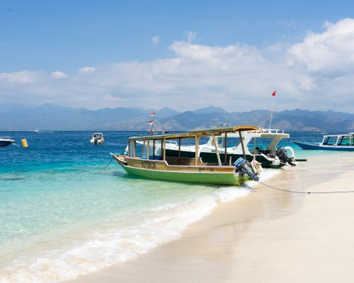 Over looking the amazing beaches of Gili T, Lombok. Pure Paradise.